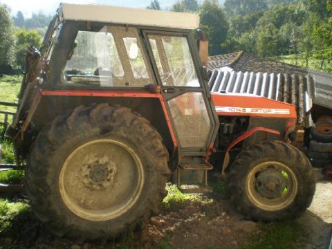 UKT 10145 Turbo - Prodám Zetor 101 45 Turbo s navijákem 5 tun.a ...