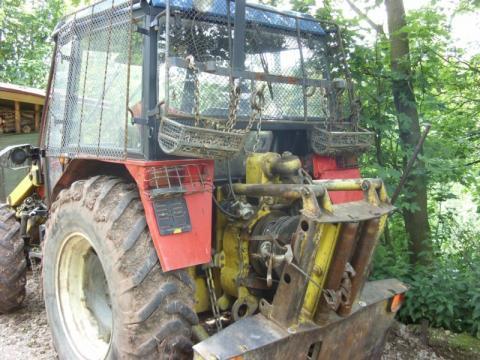 Prodám UKT 72-45 - Prodám lesní traktor UKT 7245 po kompletní ...