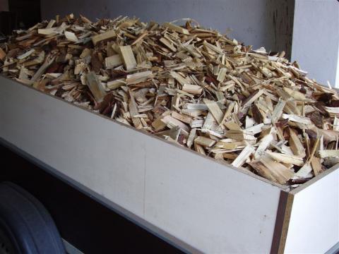Dřevní štěpka prodej