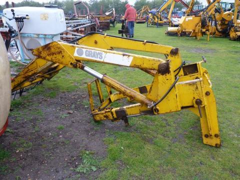 GRAYS na traktor, zetor - Prodám Čelní nakladač GRAYS na traktor ...