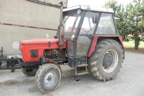 zetor 7011 - Prodám traktor Zetor 7011, rv 1982, plně funkční ...
