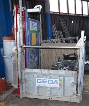 Prodám stavební výtah geda