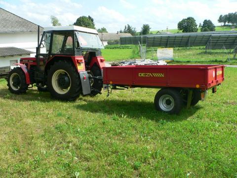 Návěs za traktor bazar